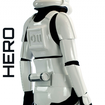 Original Stormtrooper Armour & Hero Helmet Combo Deal